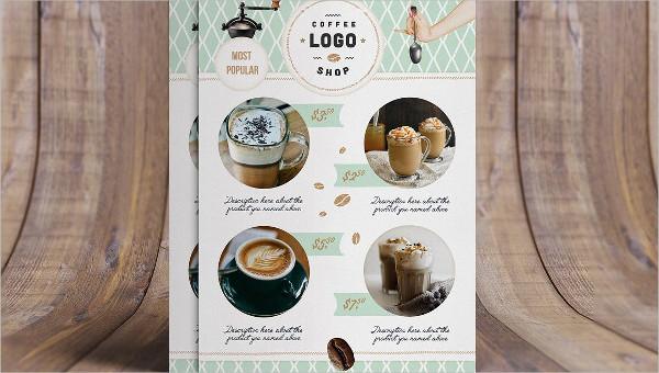 coffee shop flyer templaes
