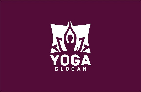 simple yoga logo