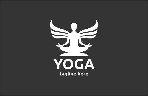 unique yoga logo