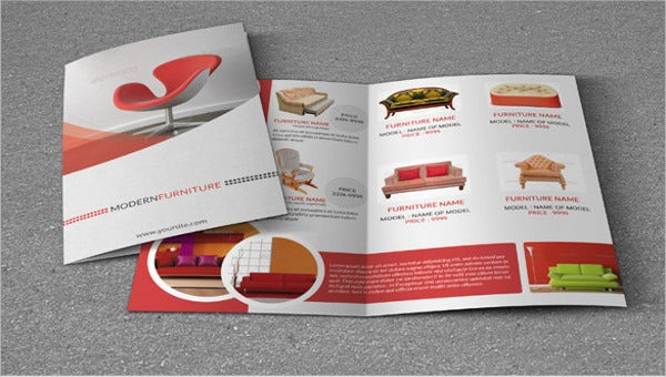furniture brochures