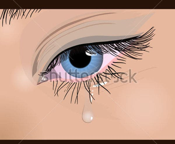 tear-drop-vector