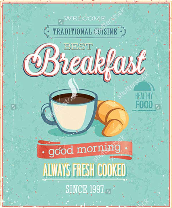 Breakfast Restaurant Flyer