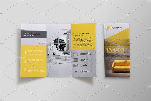 Furniture Trifold Brochure