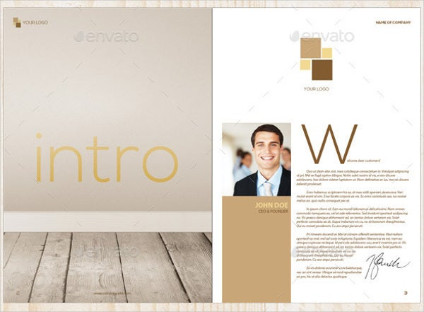 Interior Furniture Brochure