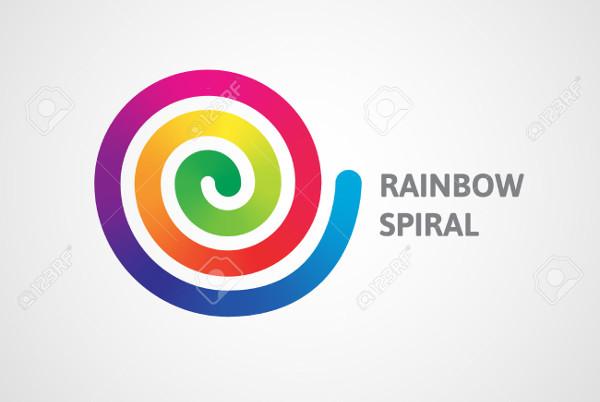 Spiral Rainbow Logo