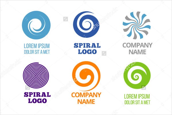 Spiral Business Logo