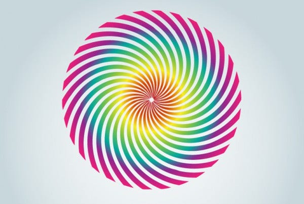 Coloured Spiral Logo