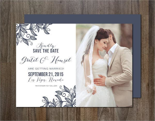 personal photo wedding invitations1