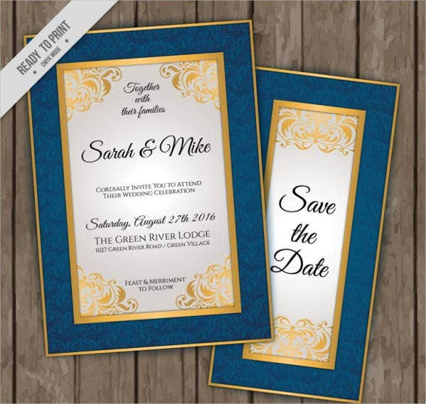 free personal wedding invitation