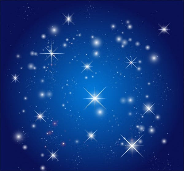 Sky Stars Vector
