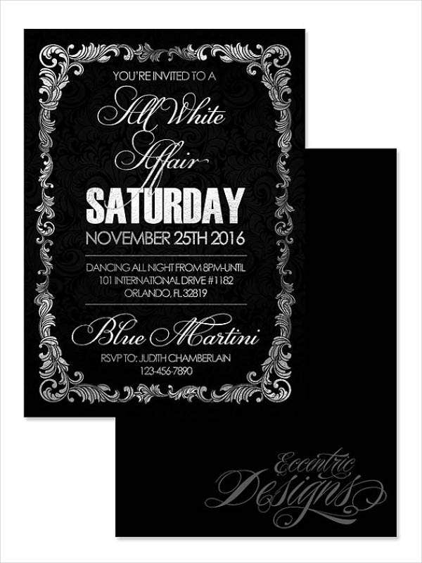 47  dinner invitation templates