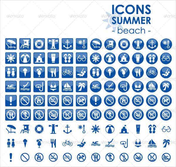 summer-beach-icons