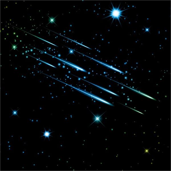 star-rain-vector