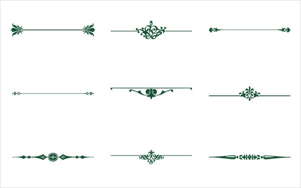 Decorative Line Vector