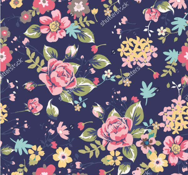 Floral Seamless Summer Patterns
