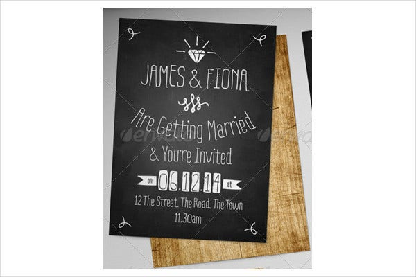 retro themed wedding invitations1