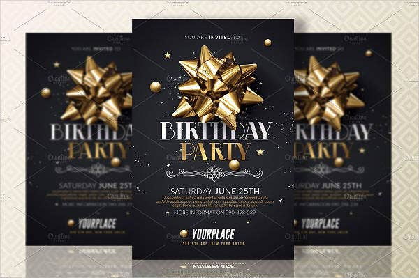 birthday invitation card in word format