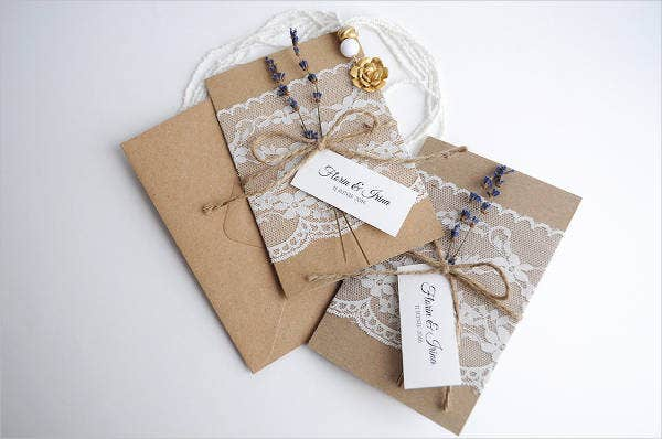 handmade lace wedding invitations1