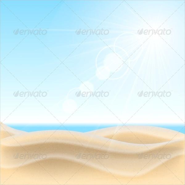 sand beach vector