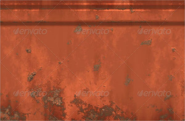 Brown Metal Wall Texture