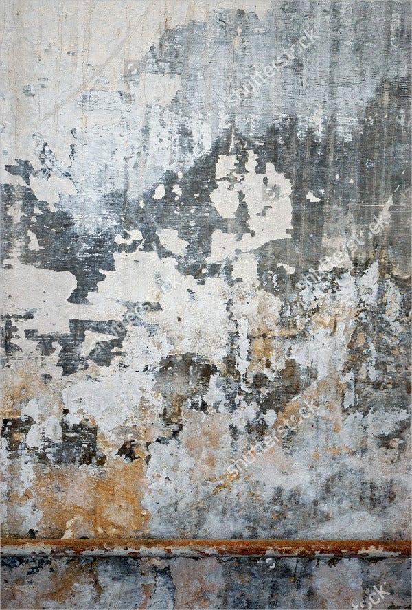 Old Grungy Metal Wall Texture