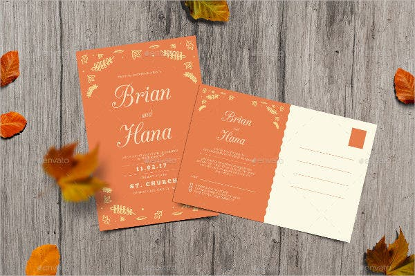 autumn rustic wedding invitations1