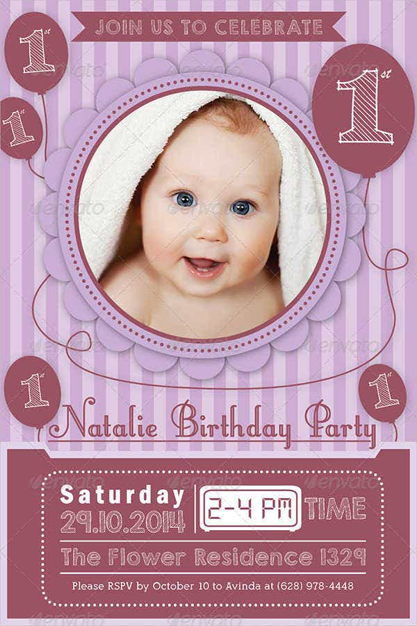 Birthday Invitation Format Templates | Free & Premium Templates