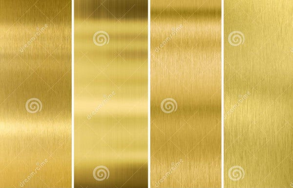 Brushed Brass Textures