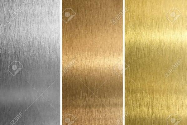 Brass Stitched Texture