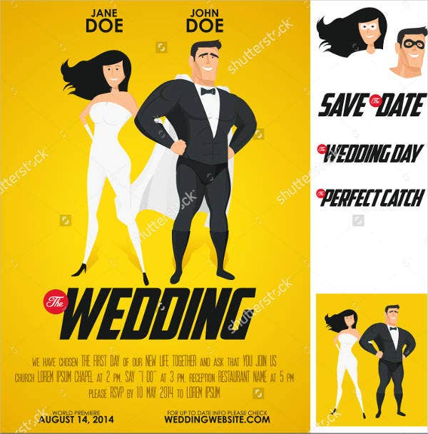 funny photo wedding invitations3