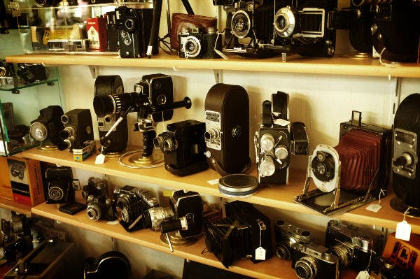 Retro Cameras Photography