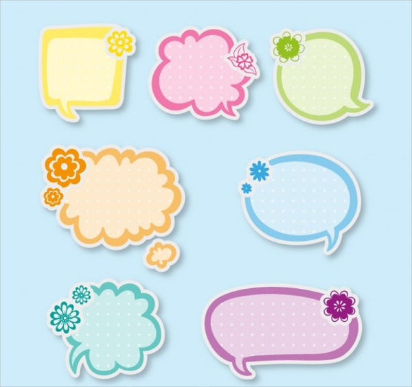 speech-bubble-stickers