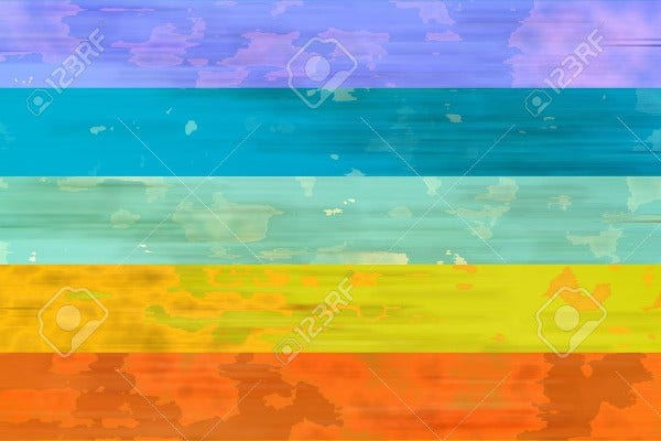Watercolor Rainbow Texture