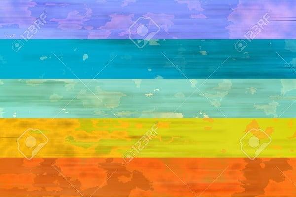 watercolor rainbow texture
