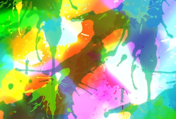 Swirl Rainbow Texture