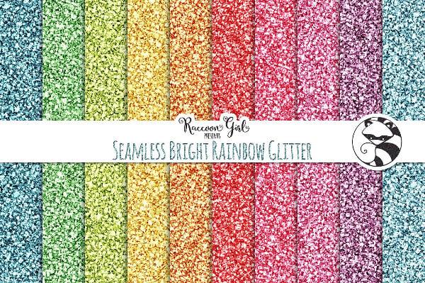 glitter rainbow texture