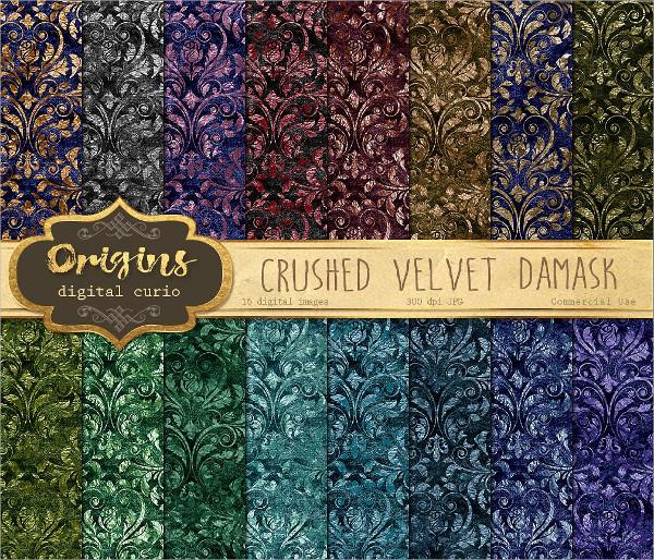 crushed velvet texture