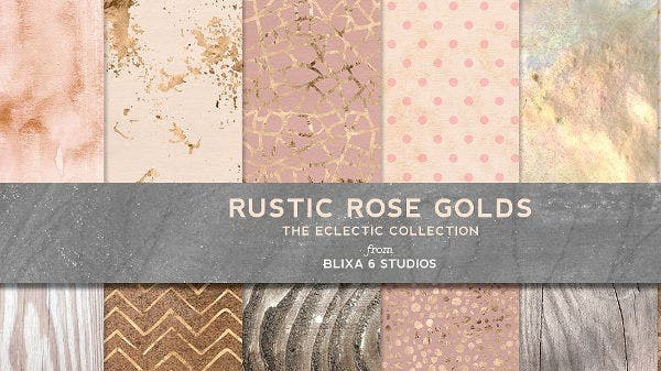gold rose texture