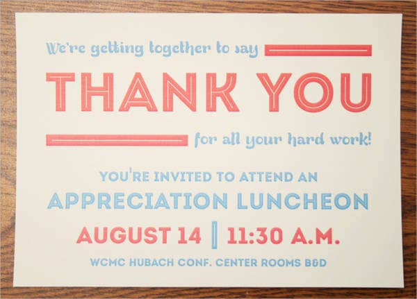 25+ Lunch Invitation Designs | Free & Premium Templates