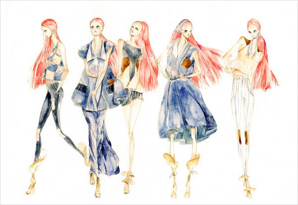 Fashion illustration by anna kiper 11