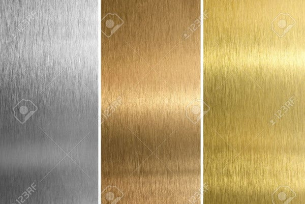 Seamless Aluminum Texture