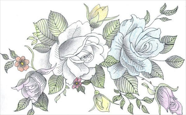 flower-bouquet-sketch