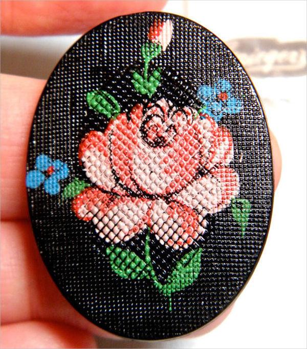 vintage-rose-texture