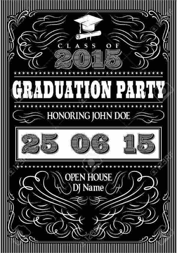 free graduation party invitation card