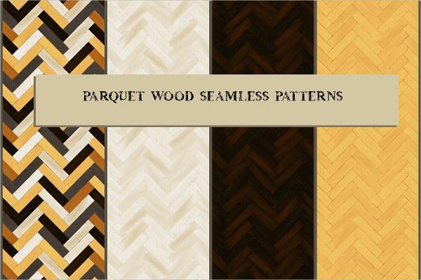 Realistic Wooden Floor Pattern
