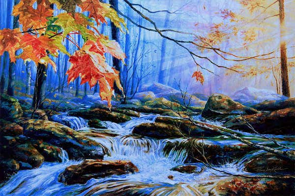 Colorful Nature Painting