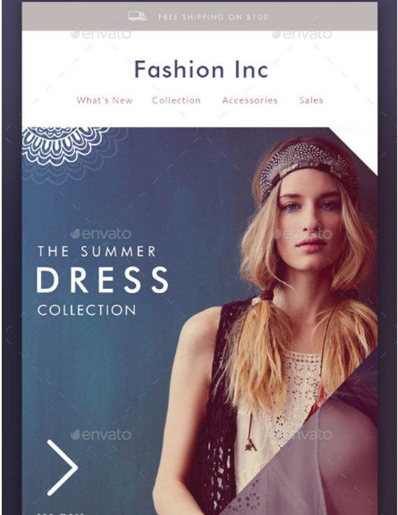 fashion show email invitation1