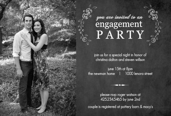 printable engagement party invitation4