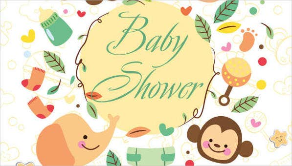 9 Baby Shower Flyers Psd Word Ai Eps Vector Formats Free