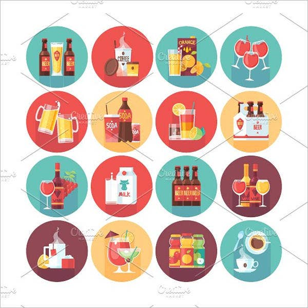 Soft Drinks Icons